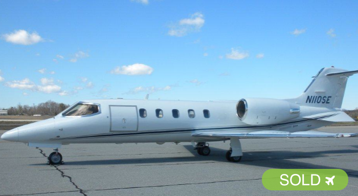 2001 Learjet 31A – N110SE - For Sale